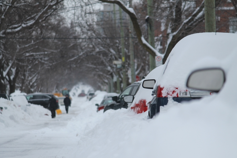 WINTER PARKING ORDINANCE IS NOW IN EFFECT